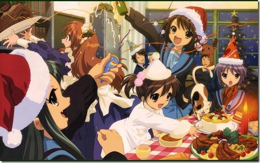 konachan-com-24553-animal_ears-cardigan-cat-catgirl-christmas-duplicate-fang-fuyu-koizumi_itsuki-kyon-kyon_no_imouto-loli-maid-nagato_yuki-shami-shamisen-tsuruya-winter