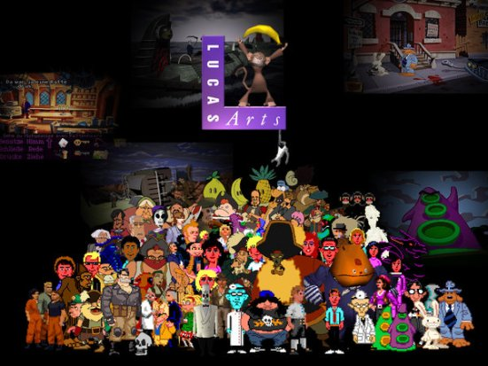 All_Lucasarts_Characters_by_NessD